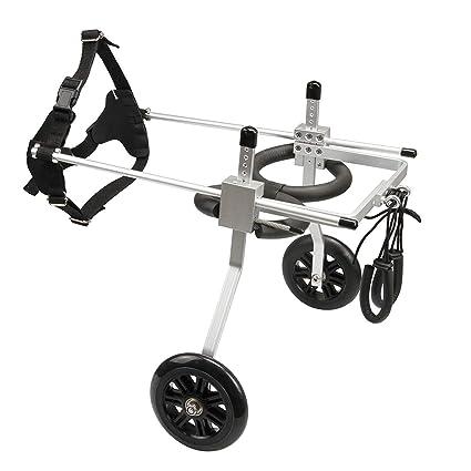 GWM Kit de carro para silla de ruedas para perros de 2 ...