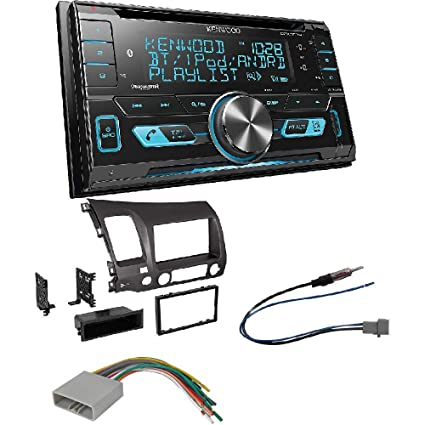 amazon com kenwood dpx503bt double din cd bluetooth siriusxm car