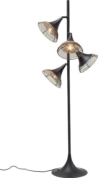 Lámpara de pie Rattan Quattro Kare Design: Amazon.es: Iluminación