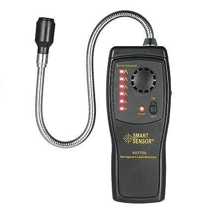 KKmoon SMART SENSOR CFC de mano HCFCs HFC Detector de gas hal骻eno Detector de