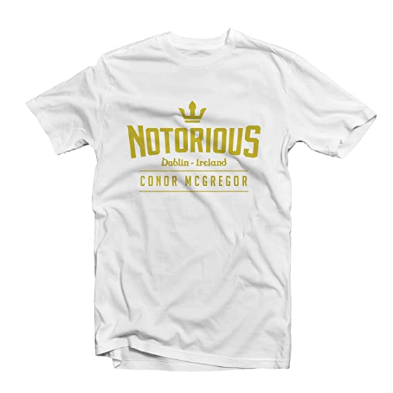 Conor McGregor 1472 – UFC -- camiseta de Notorious de Lucha de MMA: Amazon.es: Ropa y accesorios