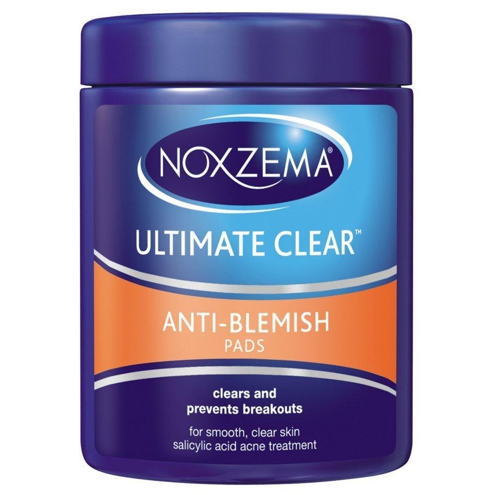 Noxzema Ult-Clear Anti-Blemish Pads 90 Count (6 Pack)
