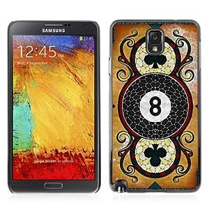 YOYOSHOP [Cool Vintage Playing Card] Samsung Galaxy Note 3 Case