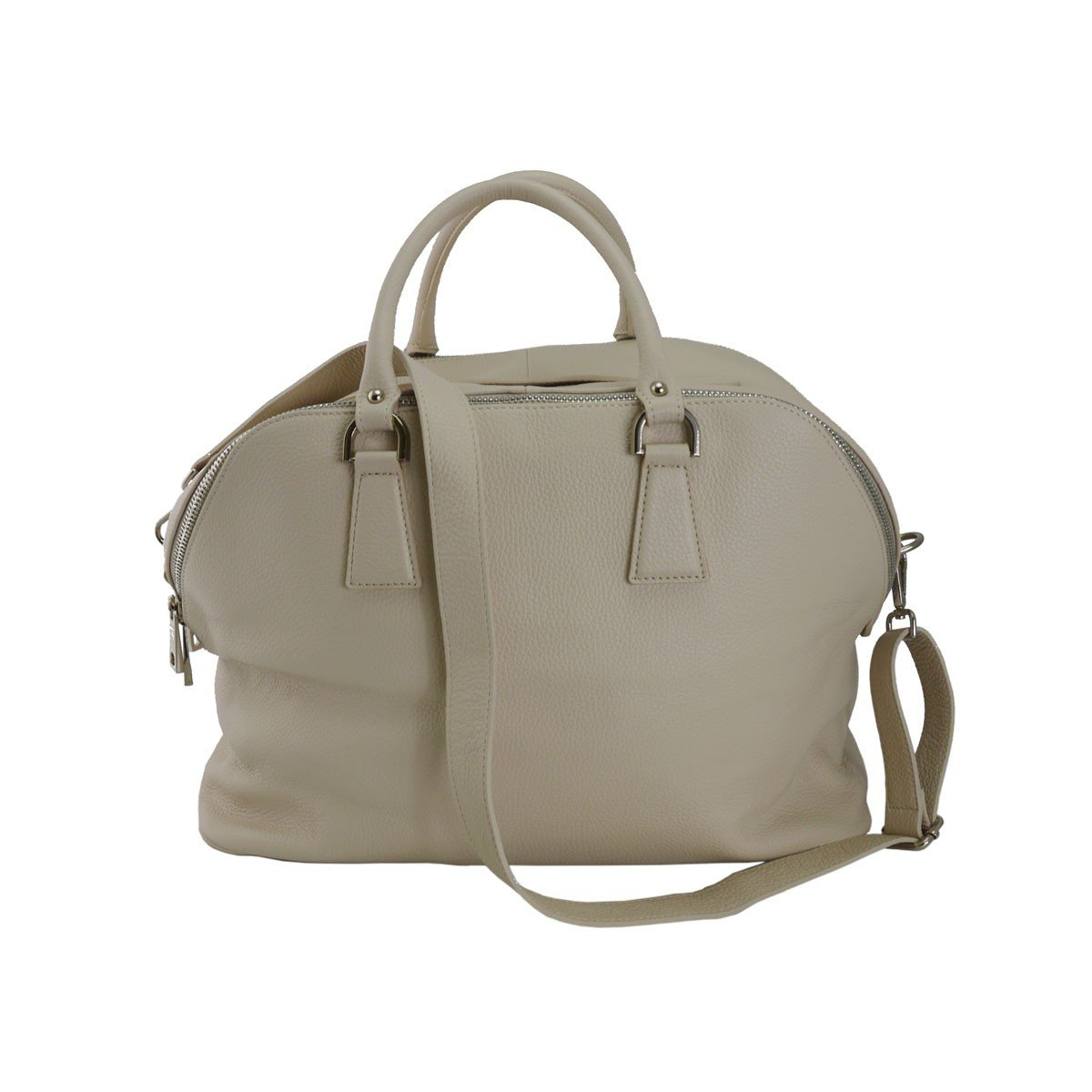 Dream Leather Bags Made in Italy Genuine Leather メンズ 554-16 US サイズ: 1 M US カラー: ベージュ B07C3RDKYW