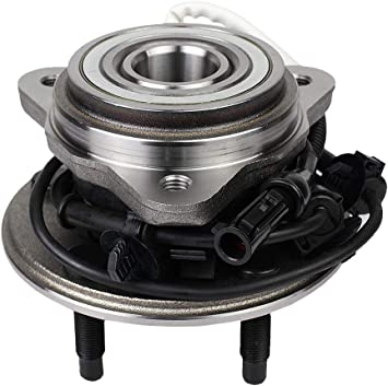 Amazon Com Autoround 515003 4x4 Front Wheel Hub And Bearing Assembly Replacement For Ford Explorer Ranger Mercury Mountaineer Mazda B3000 B4000 Automotive