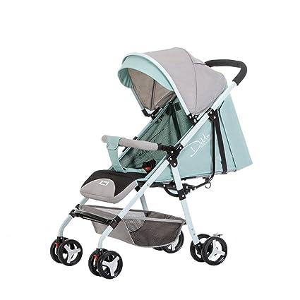 Trolley LXZXZ - Carrito de bebé de 4 Ruedas Ultraligero ...
