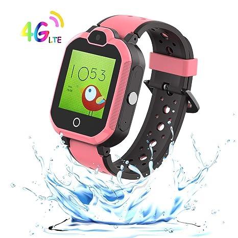 Amazon.com: 9Tong GPS Tracker Reloj Inteligente Niños ...