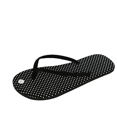 Zehentrenner Flip-Flops Sandalen Damen Slim Strandschuhe Blue-44 D9mK6Q