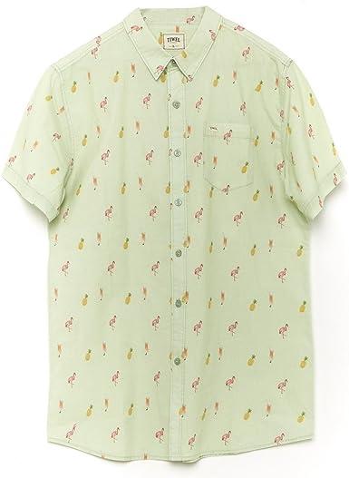 Tiwel Camisa Manga Corta Aruba Verde/Multi: Amazon.es: Ropa y accesorios