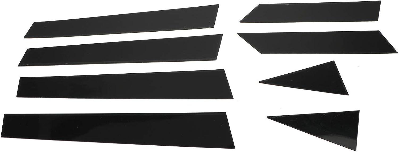 Areyourshop Black Pillar Posts 8PCS//Set Door Trim Cover Kit for 2013-2018 Nissan Altima