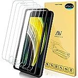 ANEWSIR 4 Pack Protector Pantalla iPhone iPhone SE 2020/8/7/6s, iPhone SE 2020/8/7/6/6s Cristal Templado, [Sin Cobertura…