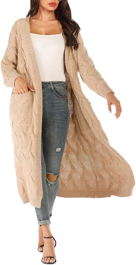 Malbaba Women Long Sleeve Knitting Open Cape Casual Coat Blouse Kimono Jacket Cardigan