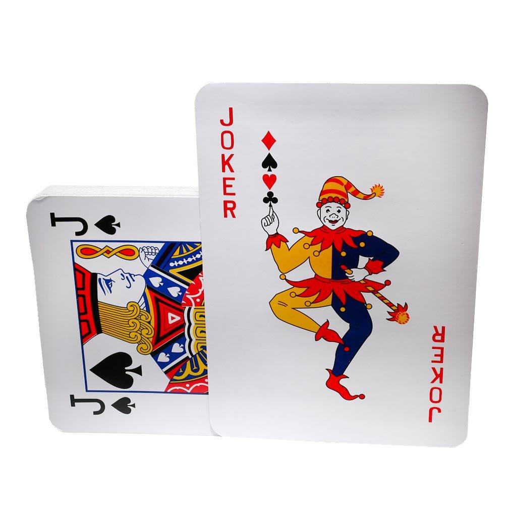 Amazon.com: Jumbo Playing Cards - 10.5\