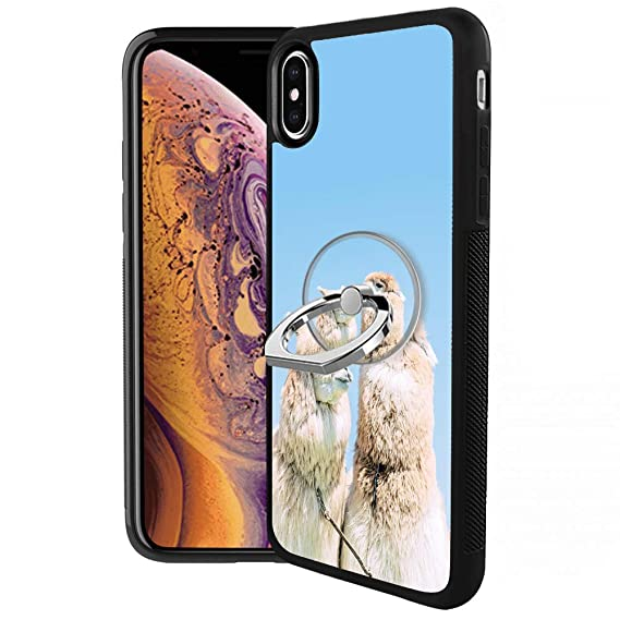 the best attitude e0b67 32b12 Amazon.com: RappA Custom Made iPhone Xs iPhone X Alpaca Case with ...