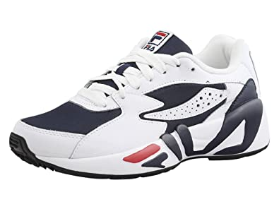 Fila Mens Mindblower Sneakers, White/Black, ...