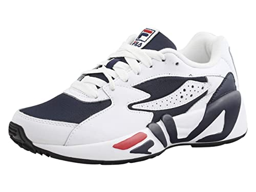 5099a59234b6 Fila Men s Mindblower Fila Navy White Fila Red Sneakers Shoes Sz  9 ...