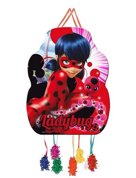 Miraculous - Piñata cumpleaños 46 cm Ladybug: Amazon.es: Bebé