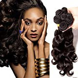 #1 Best Seller 3 Bundle Pack MALAYSIAN BODY WAVE Remy Wavy Virgin Real Human Hair Weave Extensions