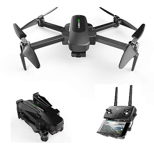 HUBSAN Zino Pro GPS FPV Drone Plegable 4K Cámara 3 Ejes Cardán 4KM 23 Minutos App WiFi Control