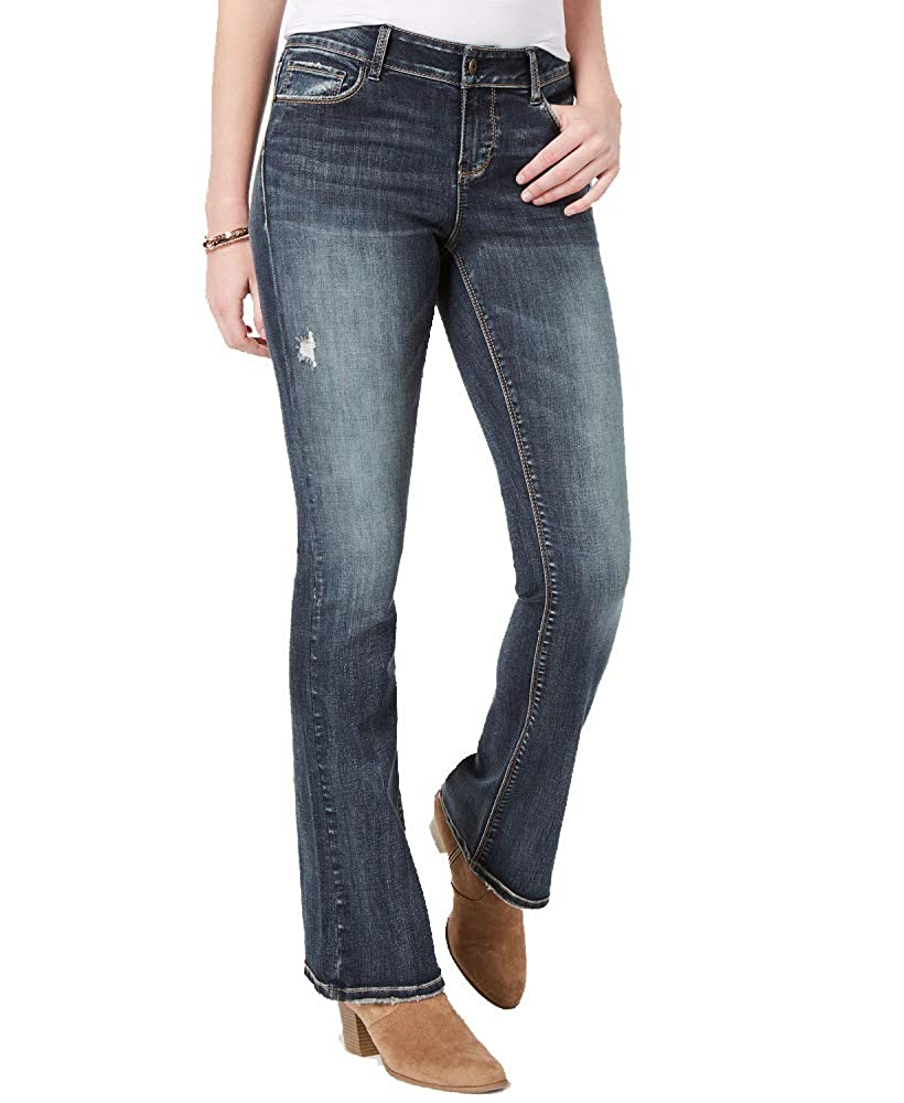 Vanilla Star Juniors Ripped Bootcut Jeans