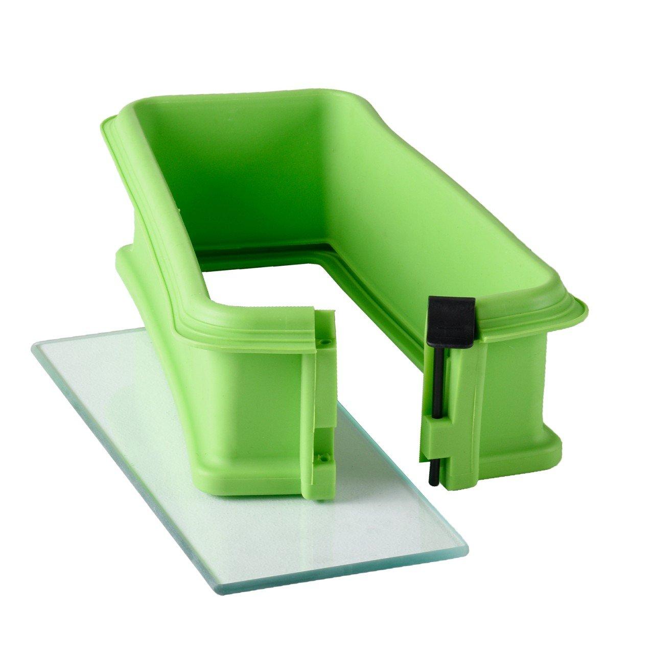 Kochen & Genießen Backbleche & -formen Silikonspringform Eckig Mit Glasboden In 2 Farben