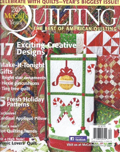 (McCall's Quilting (November/December 2013))