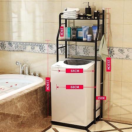 Estante de la lavadora práctico estante de metal cuarto de baño, 2 ...