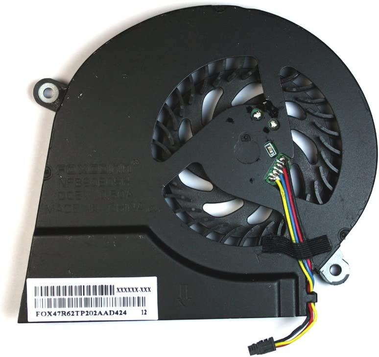 Power4Laptops Replacement Laptop Fan for HP Pavilion 17-E048CA, HP Pavilion 17-E049WM, HP Pavilion 17-E050SG, HP Pavilion 17-E050US, HP Pavilion 17-E053CA