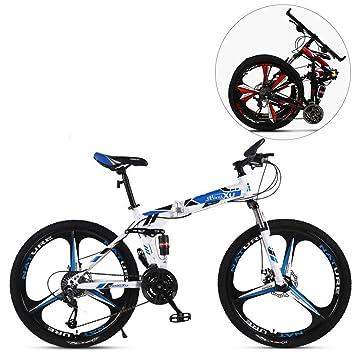 MIRC Bicicleta de montaña Plegable de 24 Pulgadas / 26 Pulgadas ...