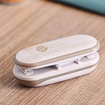 Mini Folienschweißgerät Hand Tüten Verschweißer Impulse Sealer für Plastiktüten
