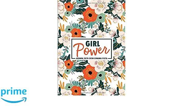 Amazon.com: Girl Power: Agenda 2019-2020 semana vista: Del 1 ...