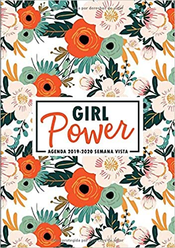Amazon.com: Girl Power: Agenda 2019-2020 semana vista: Del 1 ...