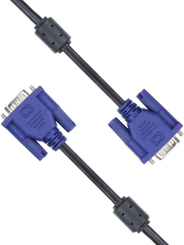 Connexion de lordinateur et de l/écran iEay C/âbles VGA vers VGA PC /à /Écran 1,5M Noir
