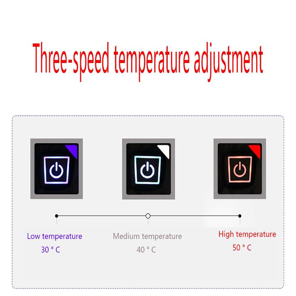 SNOWFLU Ni/ños y ni/ñas Chaleco Calefactor,Lavable,Ajustable Temperatura,Recargable USB Chaleco T/éRmico El/éCtrico,Camping Pesca y Terapia de Calefacci/ón se Bater/ías no Incluidas