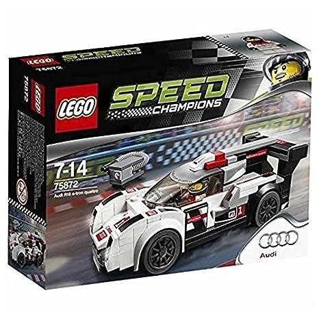 Amazoncom LEGO Speed Champions Audi R Etron Quattro - Audi r18 e tron quattro