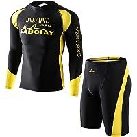 Zeraty Traje de Neopreno 3MM Mujer Hombre Wetsuit Adulto Swimwear Baño de Natación Una Pieza Traje UPF50+ 1