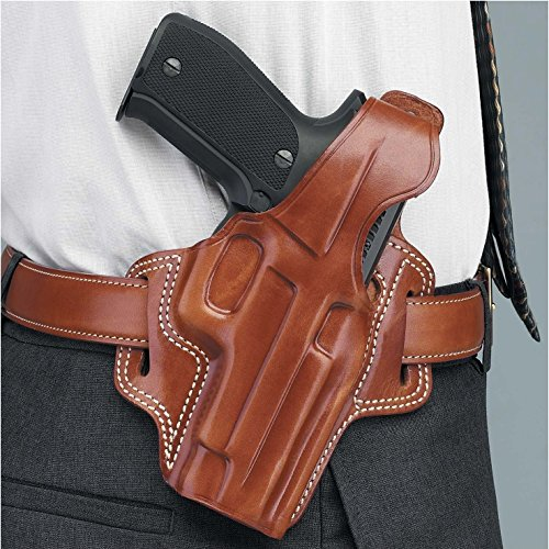 Galco Fletch High Ride Belt Holster for Sig-Sauer P226, P220 (Tan, Right-hand)