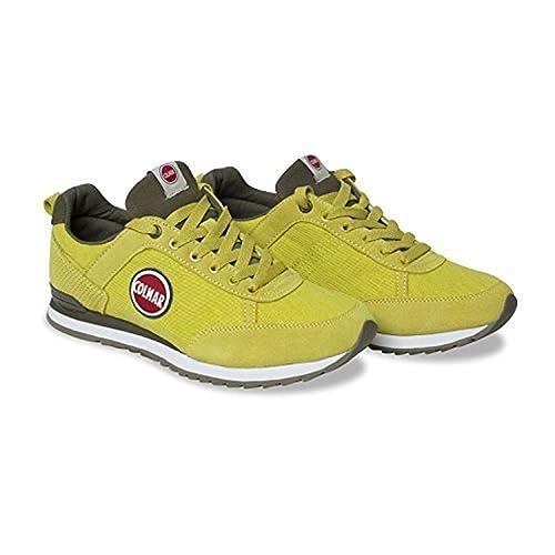 """Zapatillas """"Travis 006"""" para hombre - de Colmar - Color Amarillo/Gris"""