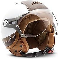 SOXON SP-325-Urban Demi-Jet - Casco de moto,