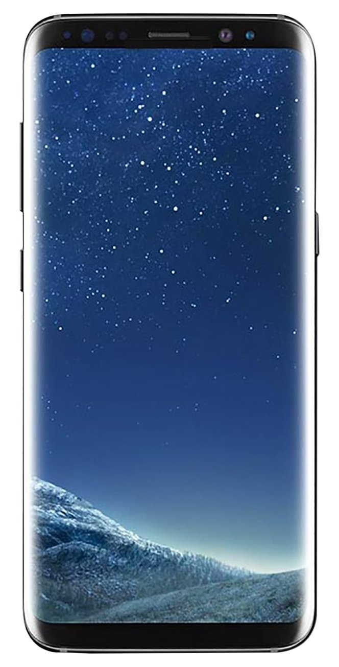 Samsung Galaxy S8+ 64GB Unlocked Phone - 6.2'' Screen - International Version (Midnight Black)