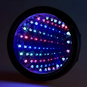 Infinity Optics Mesmerizing Magic Mirror LED Light Tunnel Lamp Party Decor