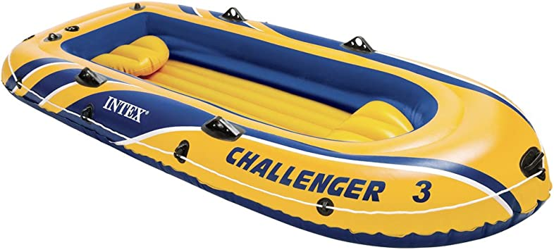 Amazon.com: Barco inflable Intex Challenger 3, para 3 ...