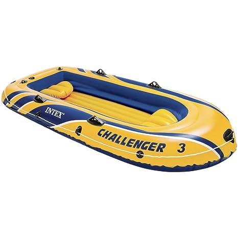 Intex Challenger - Barco Hinchable, 295 x 137 x 43 cm