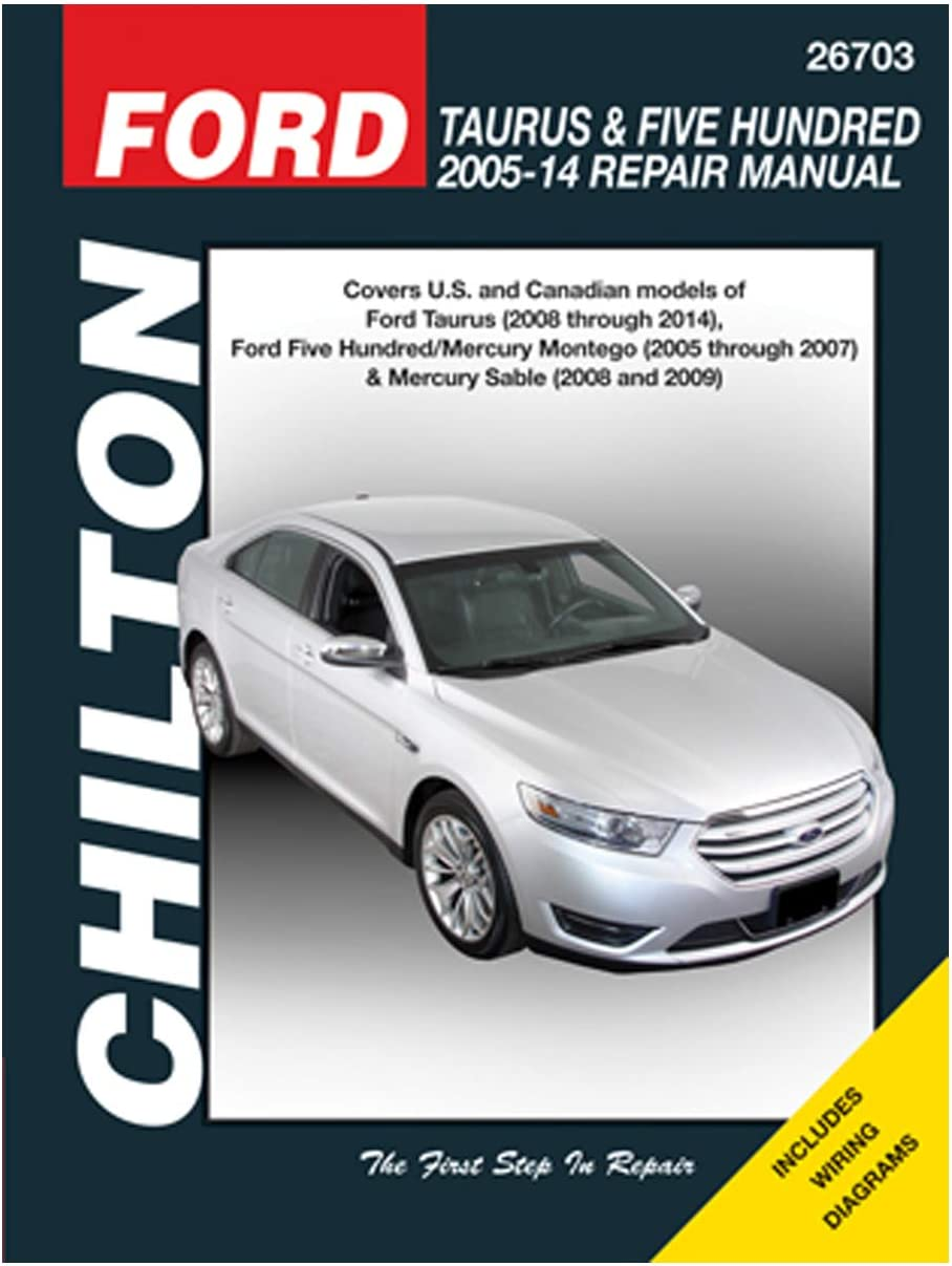 Ford Taurus Shop Manual Service Repair Book Chilton Haynes