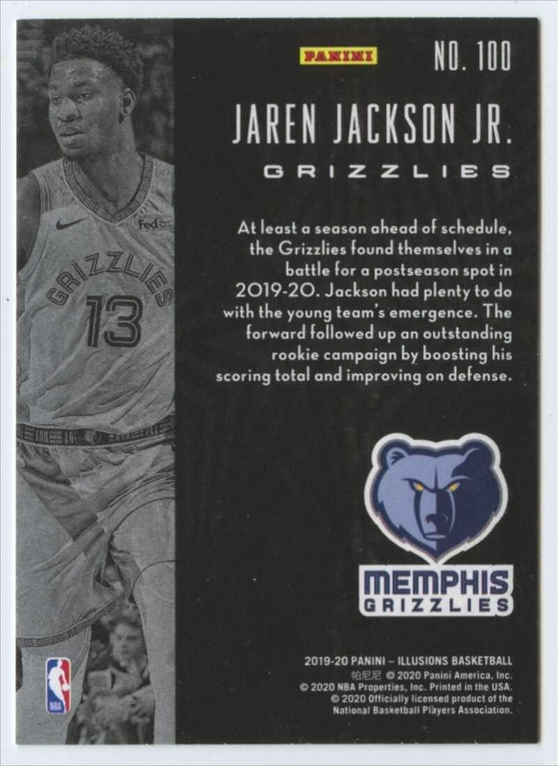 Memphis Grizzlies 2019-20 Panini Illusions #100 Jaren Jackson Jr