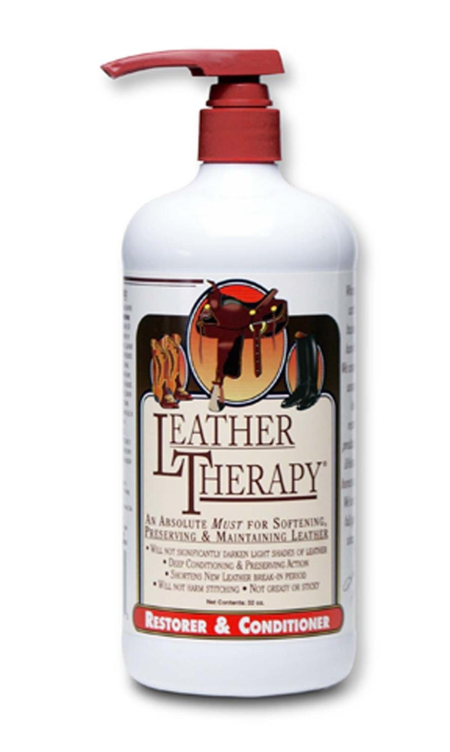LEATHER THERAPY EQUESTRIAN RESTORER & CONDITIONER - 32 OUNCE