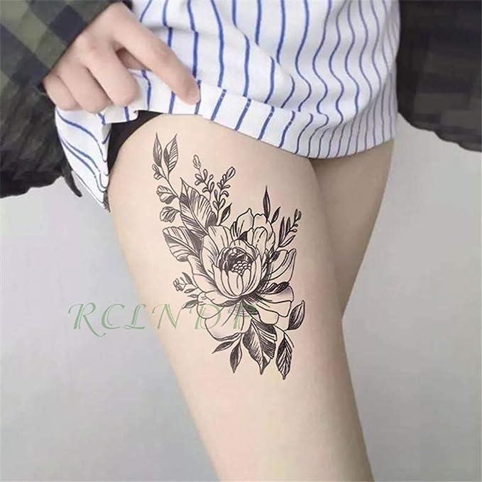 tzxdbh 5pcs Impermeable Etiqueta engomada del Tatuaje Temporal ...