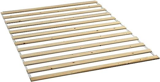 Rollrost Lattenrost 15 Latten Kiefer 140x200 cm