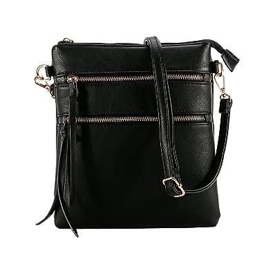 f927f60702 XY Fancy Crossbody Bags for Women Large Anti Theft Crossbody Bags for Women  Zip Multi Pocket
