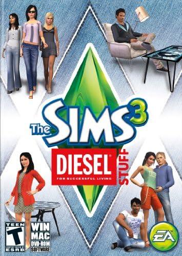 Electronic Arts Sims 3 Diesel Stuff Pack, PC - Juego (PC, 3000 MB, 1024 MB, 2GHz): Amazon.es: Videojuegos